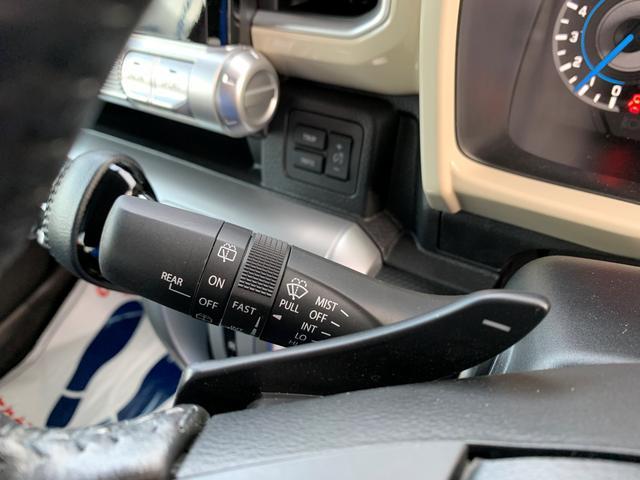ワイパーにはミストスイッチがついて使い勝手が向上してます。