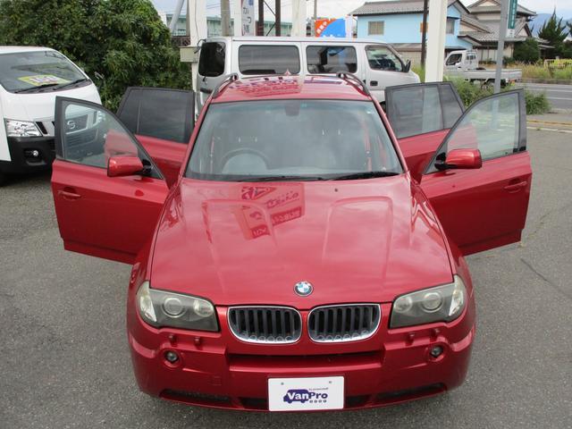 BMW BMW X3 2.5i 4WDスポーツパッケージ 純正AW18インチ