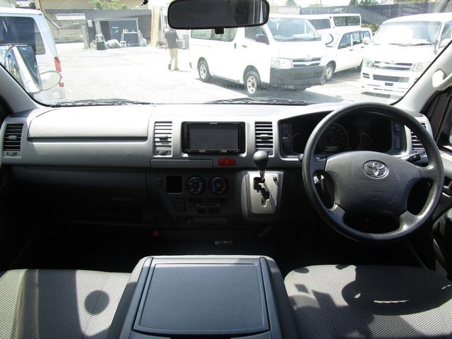 トヨタ レジアスエースバン ロングDX 4WD ディーゼル 両側スライドドア ナビ