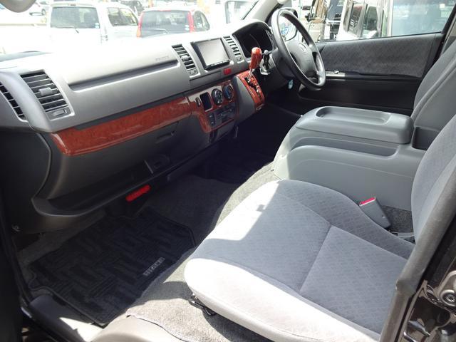 トヨタ ハイエースバン ロングスーパーGL 1オーナー Dターボ 4WD 18AW