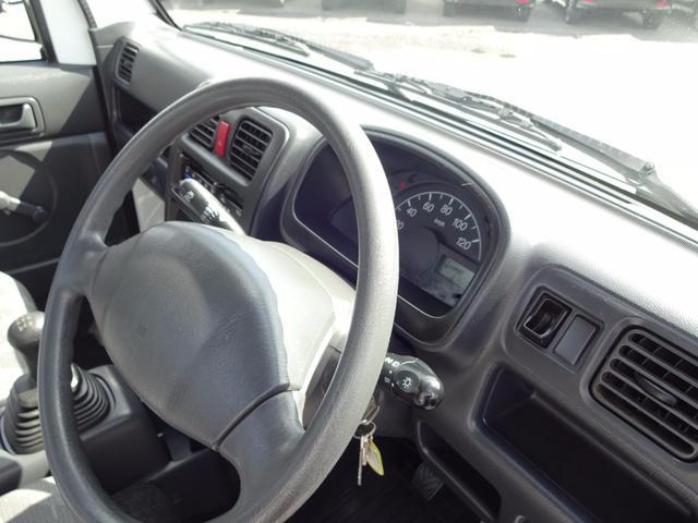 スズキ キャリイトラック KC エアコン パワステ 5MT 4WD 1オーナー 禁煙車