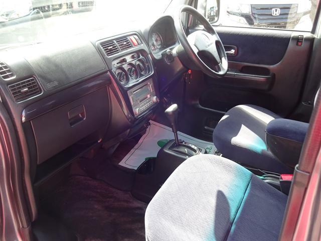 ホンダ バモス Lターボ 1オーナー 禁煙車 記録簿 AT 4WD フル装備
