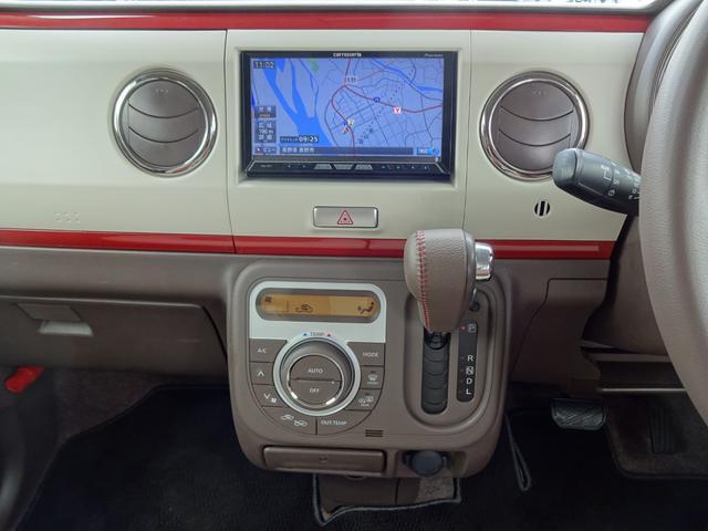 X ワンオーナー 禁煙車 記録簿 4WD タイヤ新品 ナビ(10枚目)