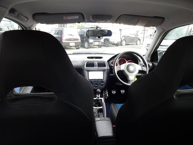 WRX STi 車高調 社外マフラー 6MT 4WD ナビ(12枚目)