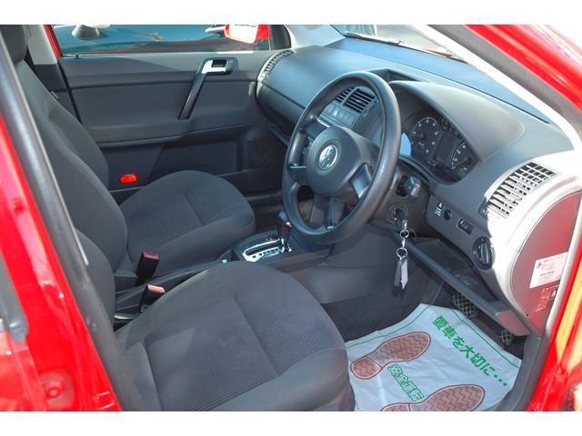 フォルクスワーゲン VW ポロ ベースグレード ディーラー車 アルミホイール キーレス