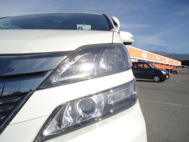 トヨタ ヴェルファイア 2.4Z Gエディション 4WD 純正HDDナビ