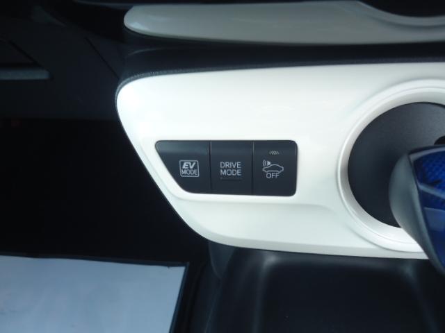 ハイブリット車 EVモード付です。