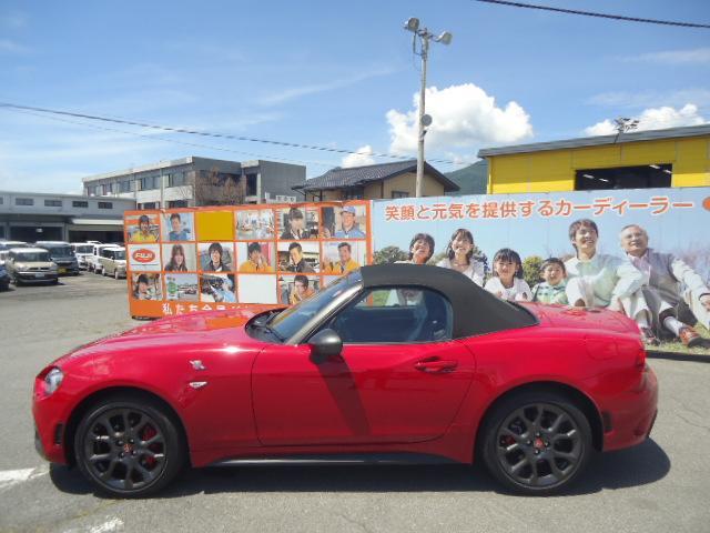 「アバルト」「アバルト124 スパイダー」「オープンカー」「長野県」の中古車28