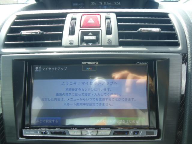 STI タイプS 4WD ワンオーナー ハーフレザーシート(11枚目)