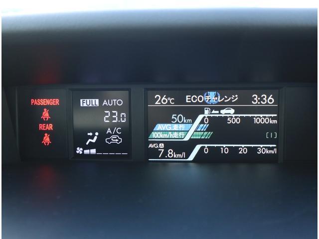1.6GTアイサイト 4WD ワンオーナー アイサイト 純正ナビ&フルセグTV LEDライト(14枚目)