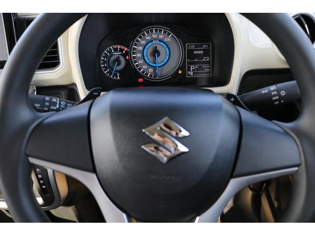 ハイブリッドMX 登録済未使用車 ハイブリッド スズキセーフティーサポート 衝突被害軽減ブレーキ スマートキー アイドリングストップ シートヒーター パドルシフト クリアランスソナー パーキングセンサー レーンサポート(9枚目)