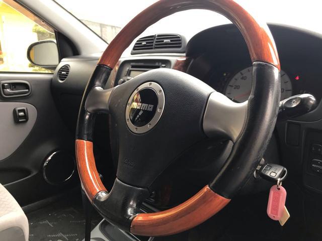 X 4WD キーレス momoウッドコンビステアリング CD(10枚目)