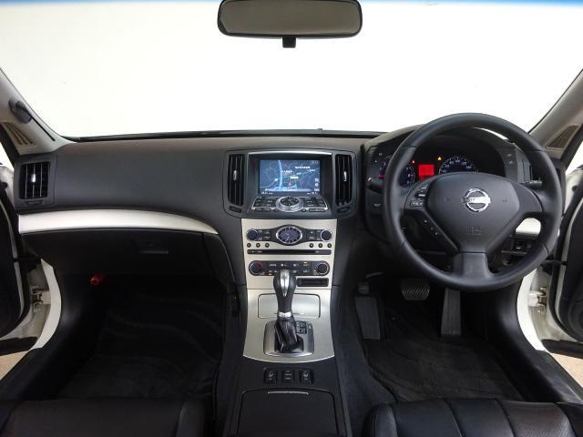 日産 スカイライン 250GT FOUR タイプP 4WD HDDナビ黒革ETC