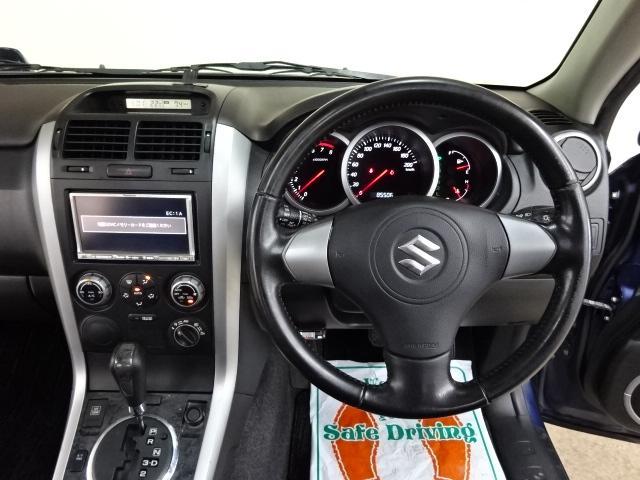スズキ エスクード ヘリーハンセンLTD 4WD ナビTV サンルーフ HID
