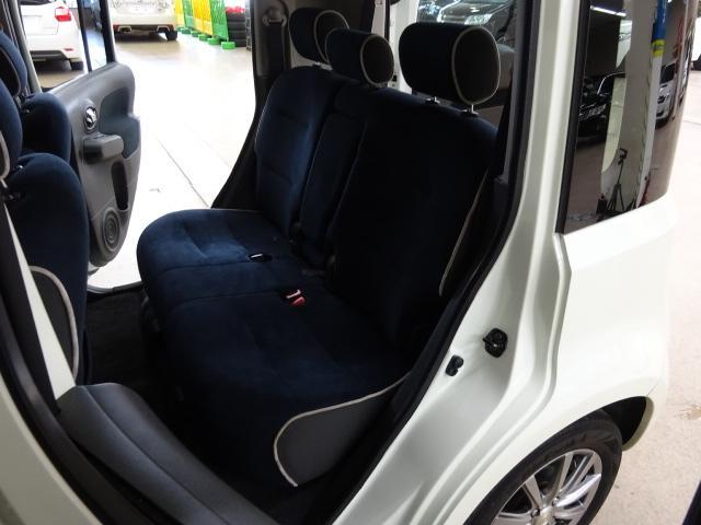 日産 キューブ 15X FOURインディゴ+プラズマ4WD ナビTV Iキー