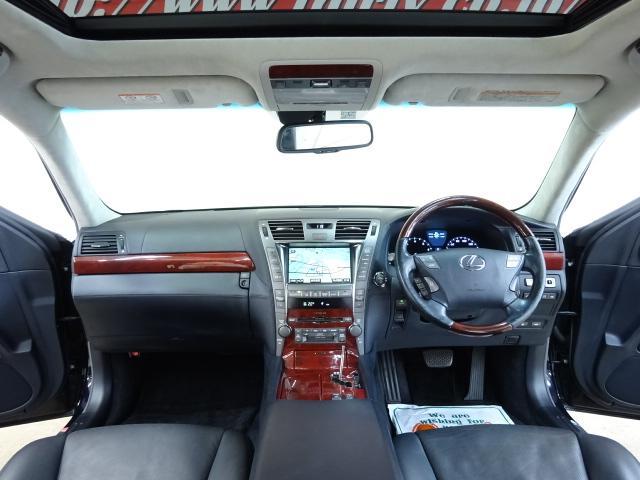 LS600hL後席セパレートシートPKG 4WD 本革 SR(9枚目)