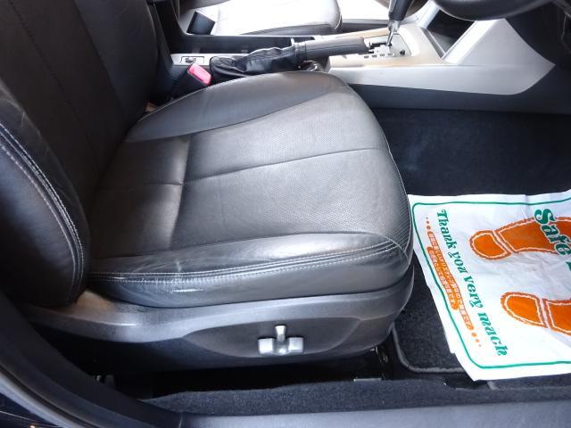 ■ 装備4 ■ ブラックレザーシート|運転席、助手席ヒーター付き電動パワーシート