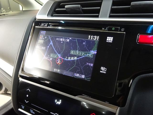 Lパッケージ フルタイム4WD 純正インターナビ TV バックカメラ スマートキー エンジンプッシュスタート LEDヘッドライト ハーフレザーシート ビルトインETC車載器 社外アルミ コンフォートビューPKG(2枚目)