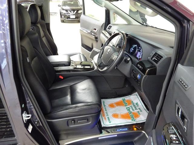 SR Cパッケージ フルタイム4WD E-Four ダブルムーンルーフ 電動ヒーター付き本革シート エグゼクティブシート オットマン フリップダウンモニター スマートキー ETC 両側パワースライドドア 自動リアゲート(11枚目)