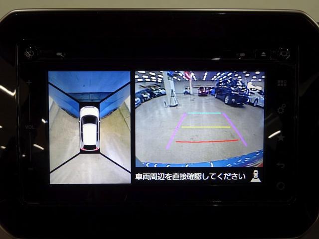 ハイブリッドMZ フルタイム4WD セーフティーパッケージ装着車 デュアルカメラブレーキサポート グリップコントロール ダウンヒルアシスト 純正全方位モニター付きメモリーナビ ETC LEDヘッドランプ スマートキー(4枚目)