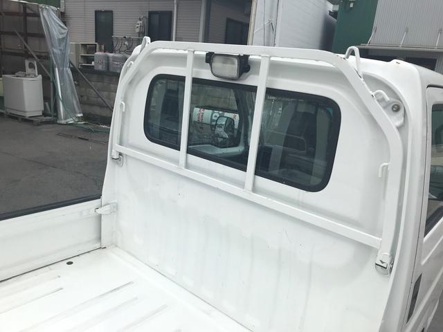 4WD 5速マニュアル 軽トラック ホワイト パワステ(7枚目)