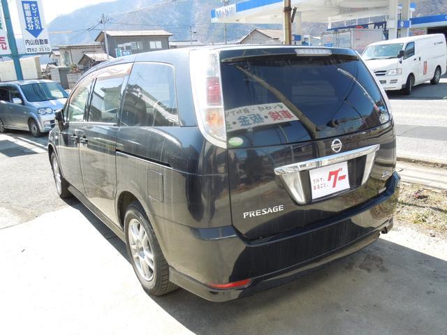 日産 プレサージュ V 4WD ナビ バックモニター ETC