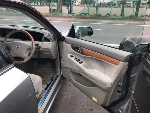 日産 セドリック 250L ナビETC パワーシート キーレス アルミホイール