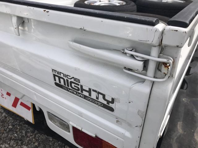 マイティ 4WD 三方開 5MT 軽トラック 2名乗り(6枚目)