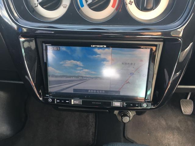 ホンダ バモス Lターボローダウン 4WD メモリーナビ 1セグTV ETC