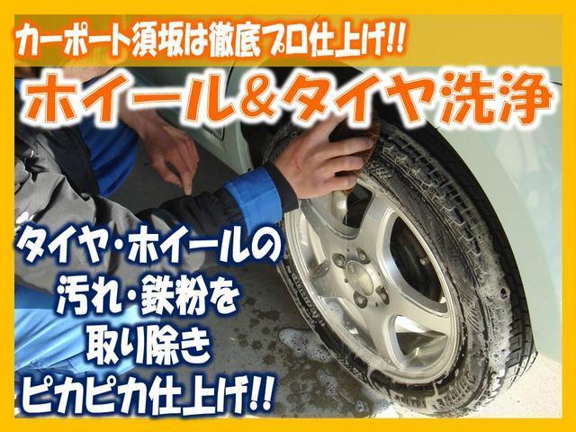 カーポート須坂は徹底プロ仕上げ!タイヤやホイールの汚れ・鉄粉も取り除きます!消耗している場合は、新品に交換して展示致しま