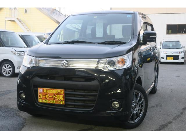 「スズキ」「ワゴンRスティングレー」「コンパクトカー」「長野県」の中古車2