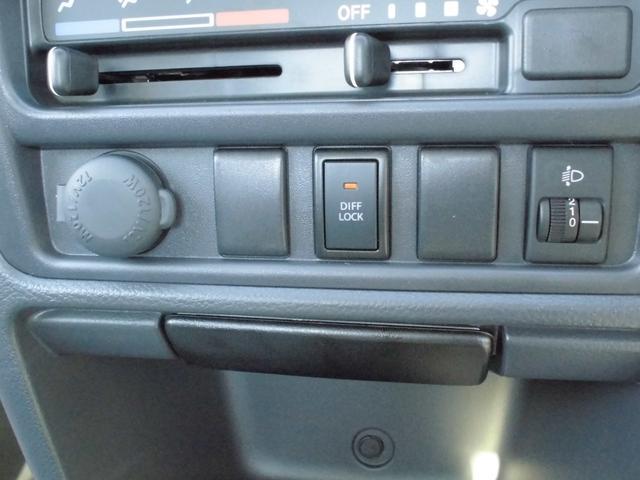 KCパワステ農繁仕様 4WD 両席エアバッグ ABS 作業灯(15枚目)