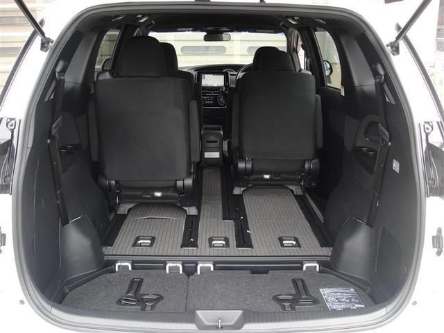 アエラス 4WD フルセグ メモリーナビ DVD再生 ミュージックプレイヤー接続可 バックカメラ 衝突被害軽減システム ETC 両側電動スライド LEDヘッドランプ 乗車定員7人 3列シート 記録簿(17枚目)
