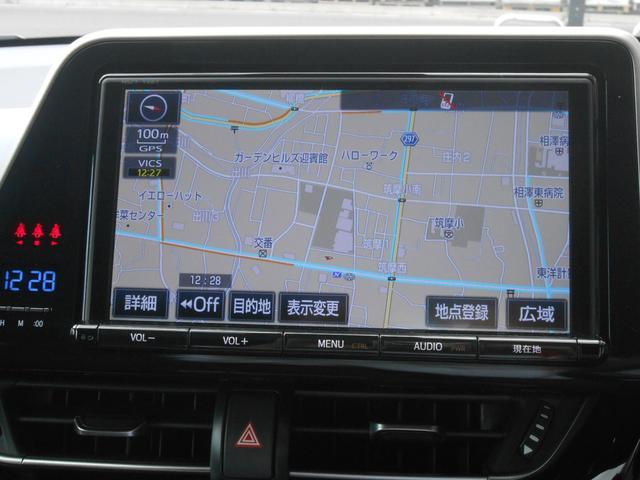 トヨタ C-HR S-T 4WD メモリーナビフルセグTV ETC車載器