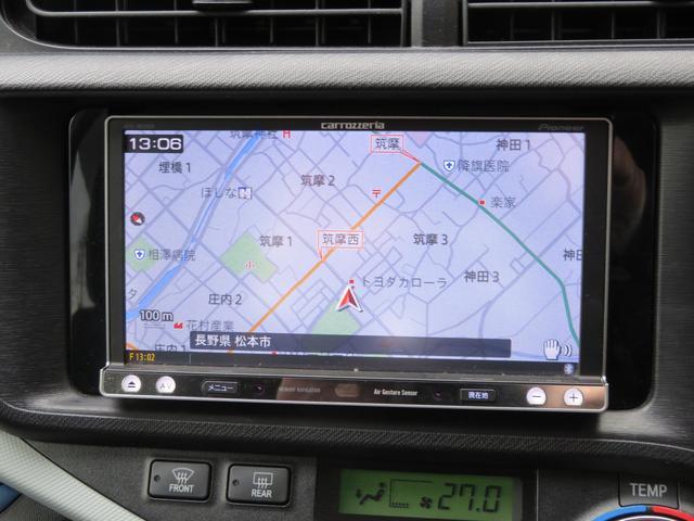 トヨタ アクア ワンオーナー ナビ ETC プッシュスタート オートAC