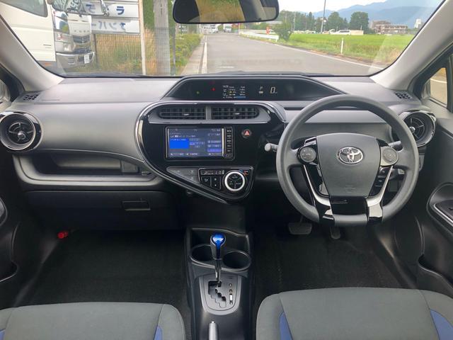 「トヨタ」「アクア」「コンパクトカー」「長野県」の中古車13