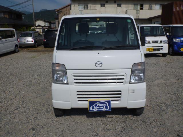 マツダ スクラムトラック KCスペシャル 4WD 5速マニュアル 三方開