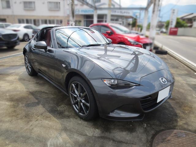 「マツダ」「ロードスターRF」「オープンカー」「長野県」の中古車23