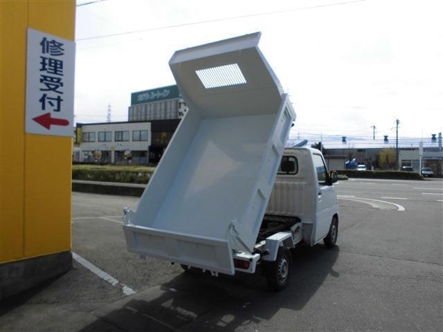 4WD PTOダンプ パワーステアリング ETC エアコン(6枚目)