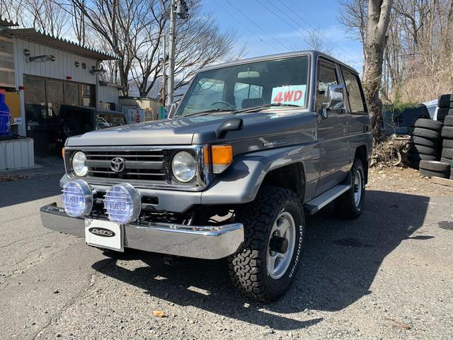 「トヨタ」「ランドクルーザー70」「SUV・クロカン」「長野県」の中古車3
