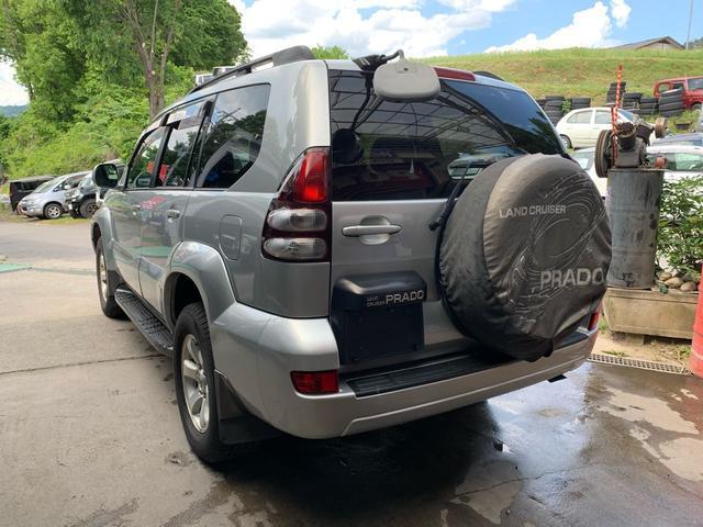 「トヨタ」「ランドクルーザープラド」「SUV・クロカン」「長野県」の中古車8