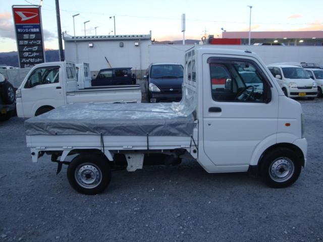 スズキ キャリイトラック 4WD マニュアル エアコン パワステ 荷台カバー
