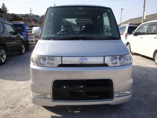 カスタムX 4WD タイベル交換 純アルミ HID(2枚目)