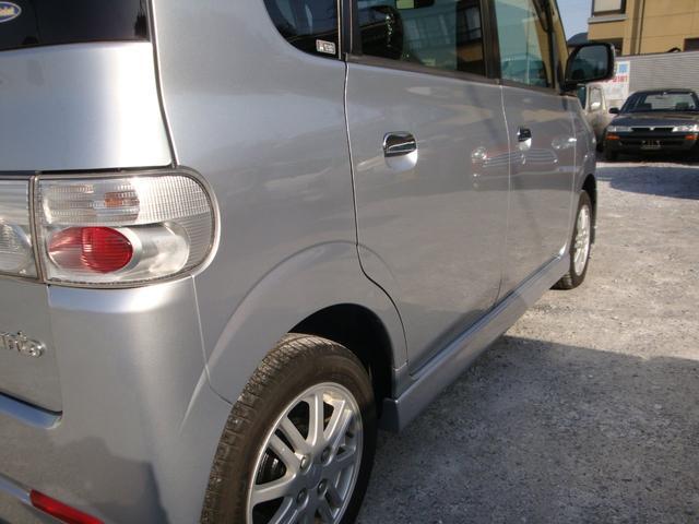 カスタムX 4WD タイベル交換 純アルミ HID(9枚目)