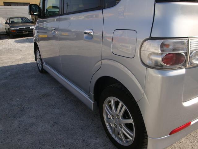 カスタムX 4WD タイベル交換 純アルミ HID(10枚目)