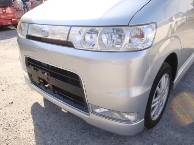 カスタムX 4WD タイベル交換 純アルミ HID(12枚目)