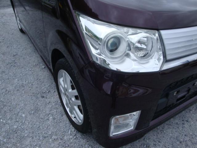 カスタム R 4WD ターボ 社外ナビ 新品タイヤ HID(11枚目)