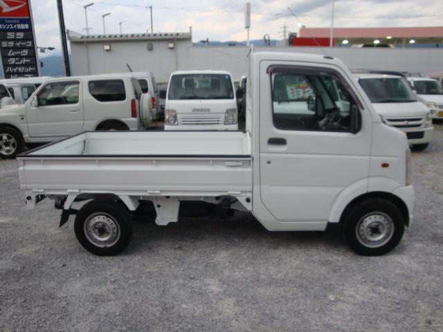 KCエアコン・パワステ 4WD マニュアル 新品タイヤ(4枚目)