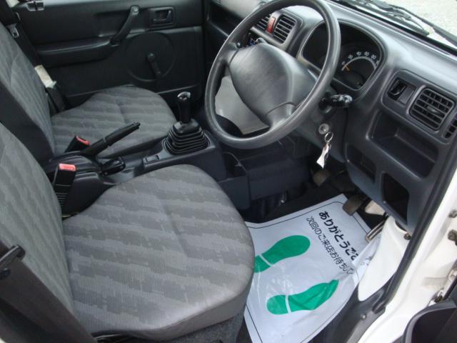 KCエアコン・パワステ 4WD マニュアル 新品タイヤ(20枚目)