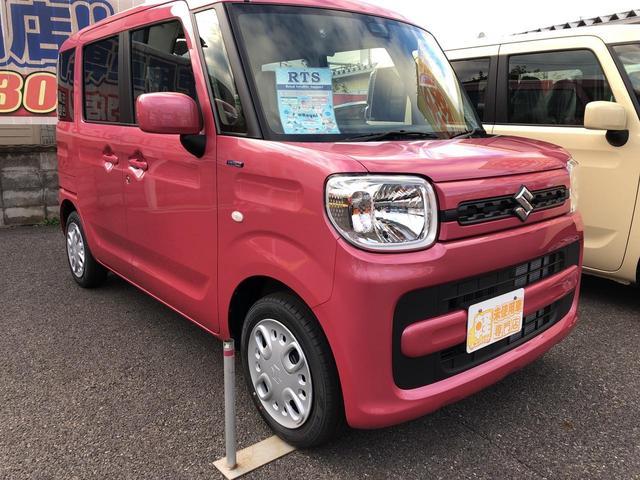 「スズキ」「スペーシア」「コンパクトカー」「長野県」の中古車4